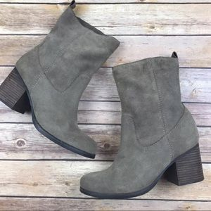 Suede Leather Steve Madden Boots